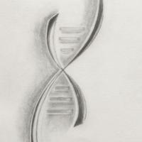 Original de la maquette du logo PAIP'Art -Crayon  - A4
