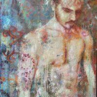 Sans titre - Huile sur toile - (81 x 60 cm)