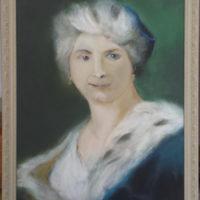 Portrait_1 - Acrylique sur toile - (Hors cadre 63 x 43 cm)