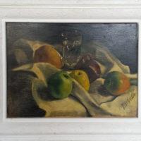 Nature morte 1 - Huile sur toile - (hors cadre 43 x 31 cm)