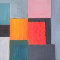 Perspective Toile 28 (2019) - Huile sur toile - (46 x 55 cm)