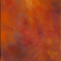 Nulle Part - Huile sur toile - (41 x 20 cm)
