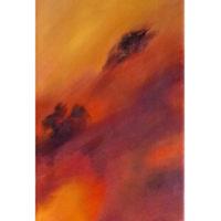 Nulle Part - Huile sur toile - (20 X 50 cm)