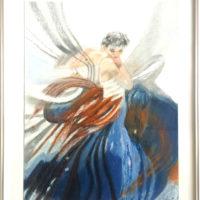 La danseuse - Pastel - (Hors cadre 32 x 24 cm)