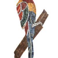 Le Perroquet - Mosaique à base de marbre