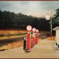 Copie de la toile d'Edward Hopper