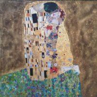 Copie de la toile de Gustav Klimt