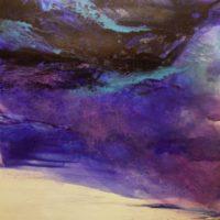 Sans titre n° 1106 - Huile sur toile -  (180 x 180 cm)