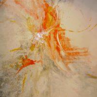 Sans titre n° 1108 - Huile sur toile - (180 x 180 cm)