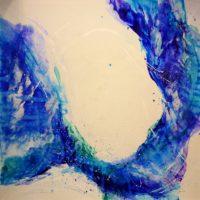 Sans titre n° 1114 - Huile sur toile - (180 x 180 cm)