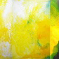 Sans titre n° 126 - Huile sur toile - Polyptyque - (120 x 400 cm)