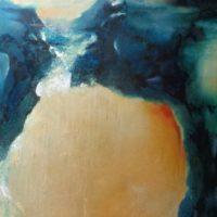 Sans titre n° 17 - Huile sur toile - (146 x 114 cm)