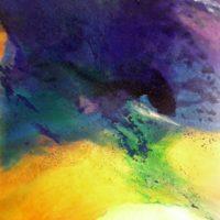 Sans titre n° 317 - Huile sur toile - (130 x 97 cm)