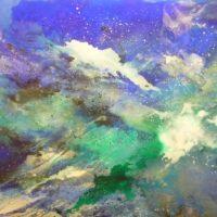 Sans titre n° 45 - Huile sur toile - (90 x 180 cm)