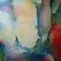 Sans titre n° 9420 - Huile sur toile - (160 x 120 cm)