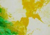 Sans titre n° 1109 - Huile sur toile - Polyptyque - (97 x 975 cm)